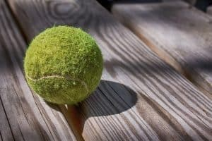 An Old Tennis Ball
