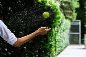Practice Tennis At Home Alone