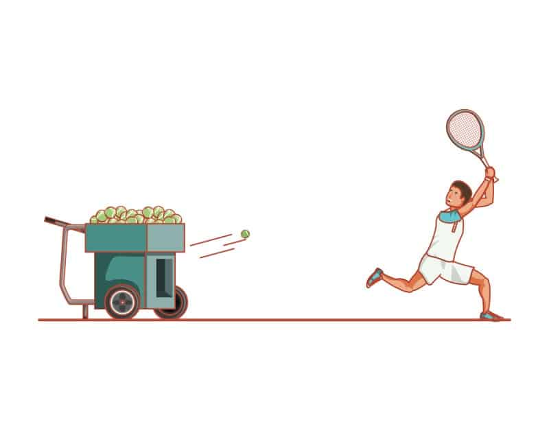 Do Tennis Ball Machines Improve Your Game